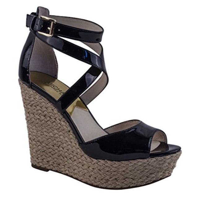 Gabriella Wedge Sandals, Black