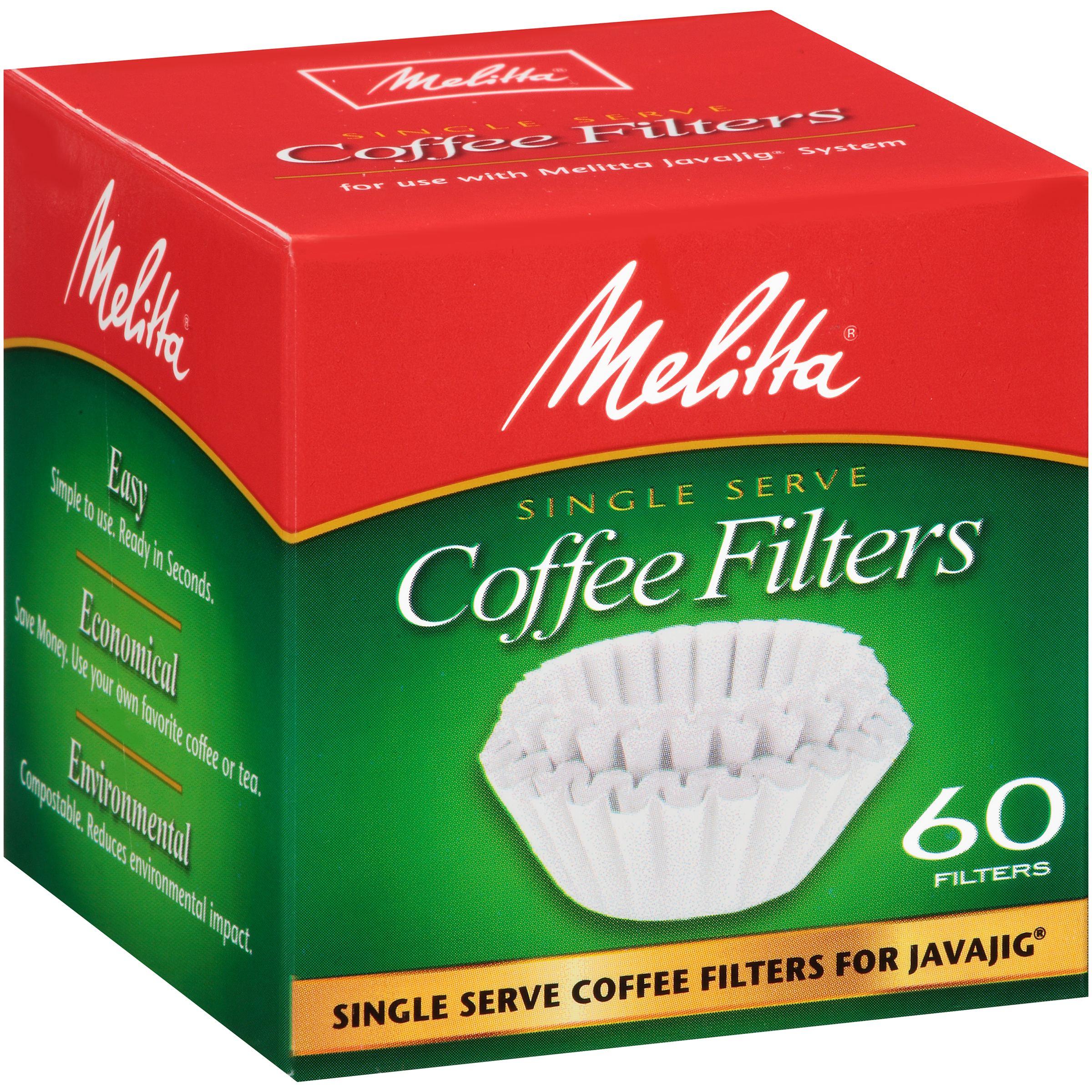 Melitta Coffee Filters Single Serve 60 CT by Melitta USA Inc.
