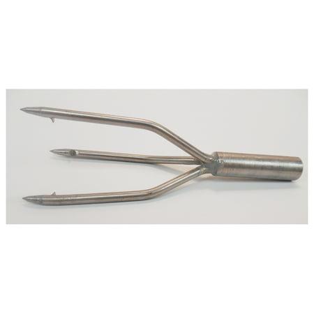 - JBL Spearguns Trident Point 3 Prong Spear Tip Silver