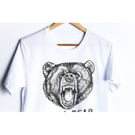 Fashion Family Clothes Family Matching Outfits T-shirt Papa Mama Kids Baby Bear Tops Tee - image 3 of 4