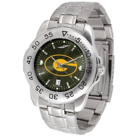 "Grambling State Tigers NCAA AnoChrome ""Sport"" Mens Watch (Metal Band)"