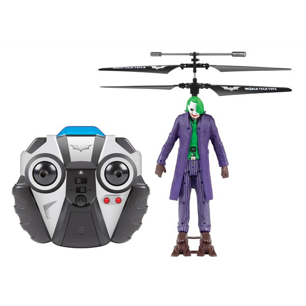 World Tech Toys Joker DC Comic Helicopter by