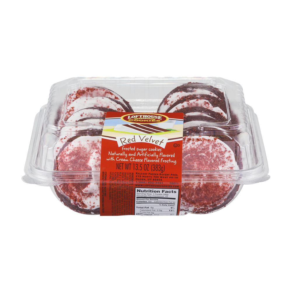 Lofthouse Red Velvet Cookies - 10 CT