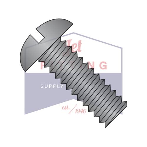 "4-40 x 5/16"" Machine Screws | Slotted | Round Head | Steel | Black Oxide (Quantity: 10000)"