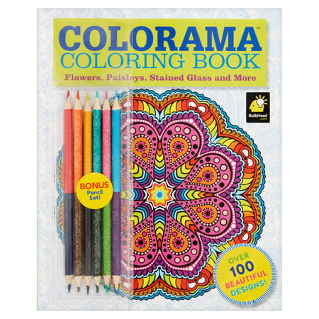 Colorama Coloring Book! (Orange And Blue Color Mix)