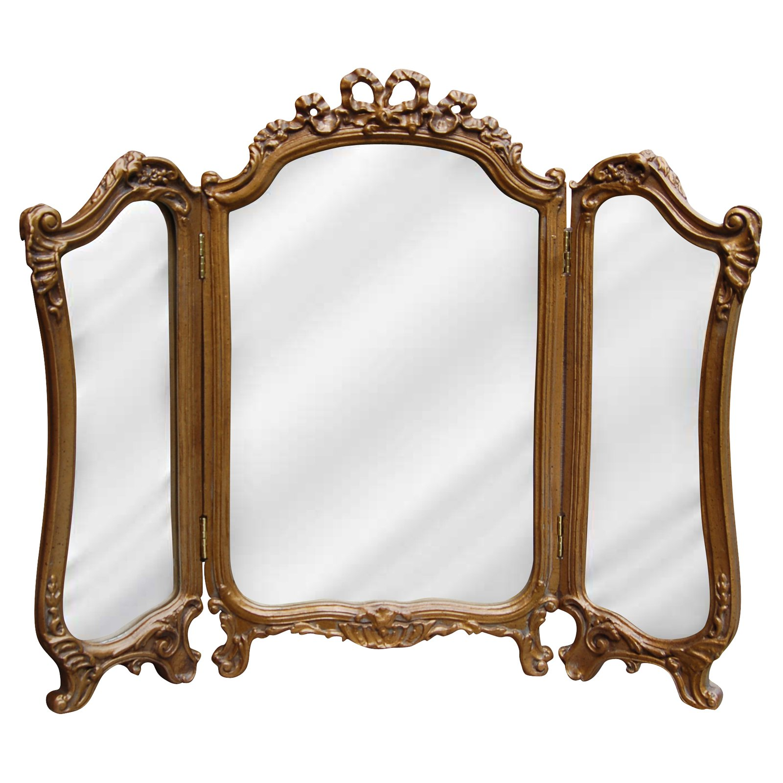 Hickory Manor House Tri Fold Vanity Mirror - 26.75W x 31.5H in ...