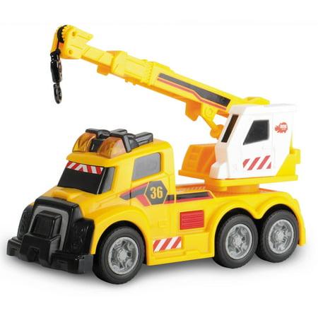 Dickie Toys Mini Action Mobile Crane - Mobile Shop Crane
