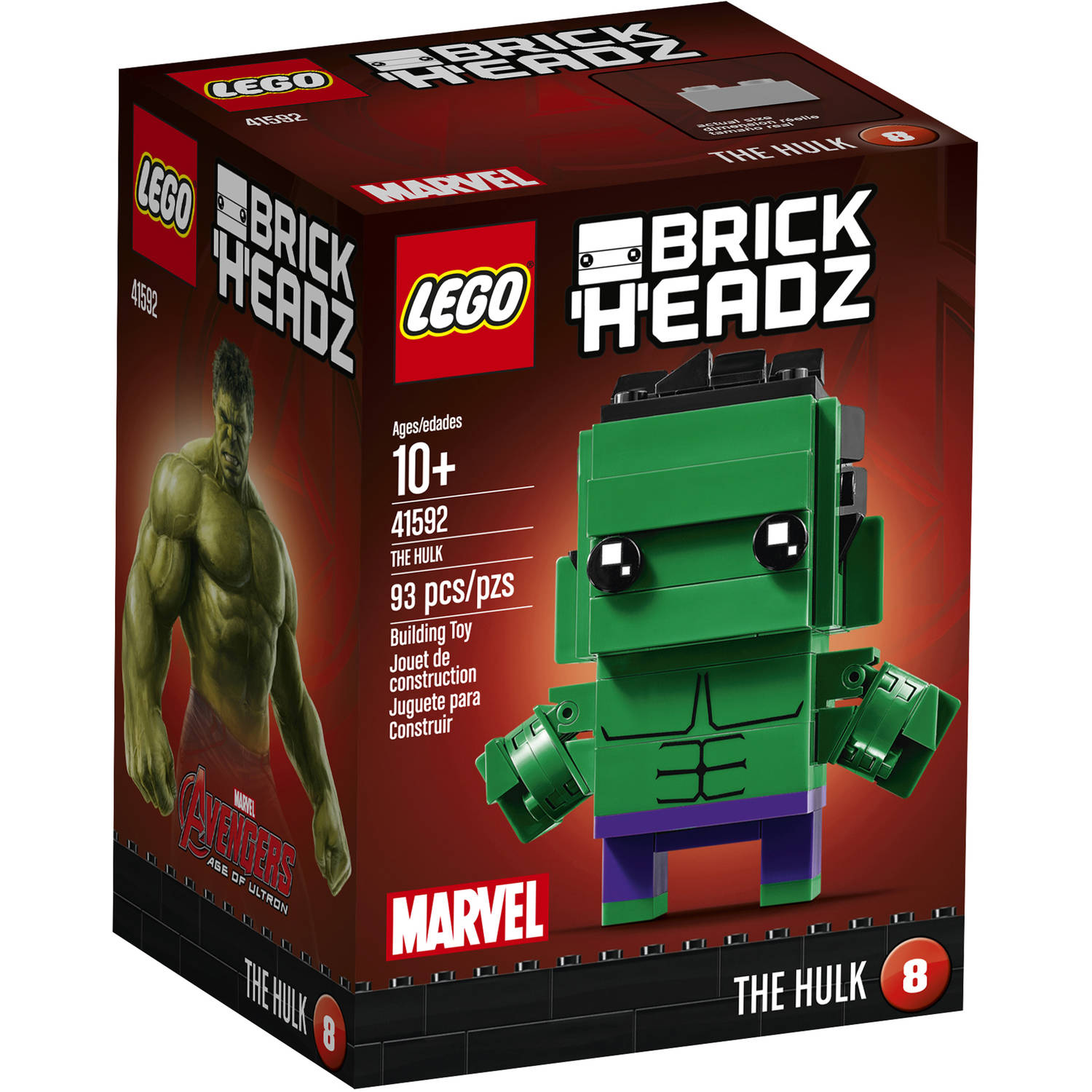 LEGO Brickheadz The Hulk 41592