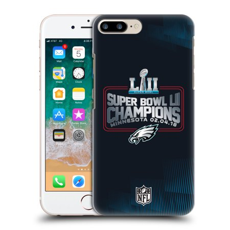 OFFICIAL NFL 2018 SUPER BOWL LII CHAMPIONS HARD BACK CASE FOR APPLE IPHONE PHONES