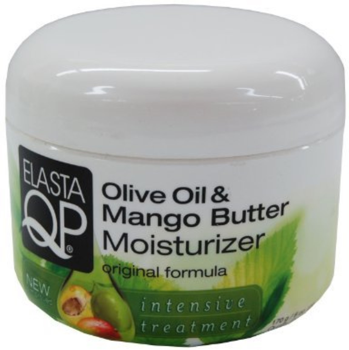 Elasta QP Olive Oil and Mango Butter Moisturizer, 8.25 oz (Pack of 2)