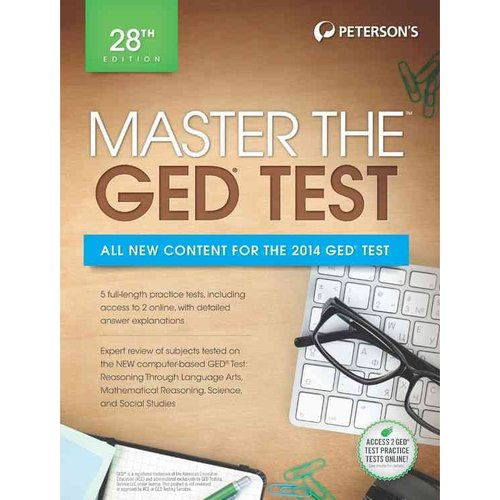 Peterson's Master the Ged Test 2014