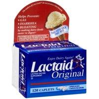 LACTAID Original Caplets 120 ea (Pack of 2)