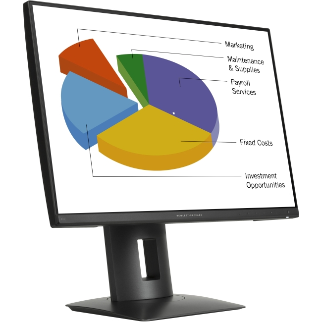 HP Z24n 24' LED LCD Monitor - 16:10 - 8 ms