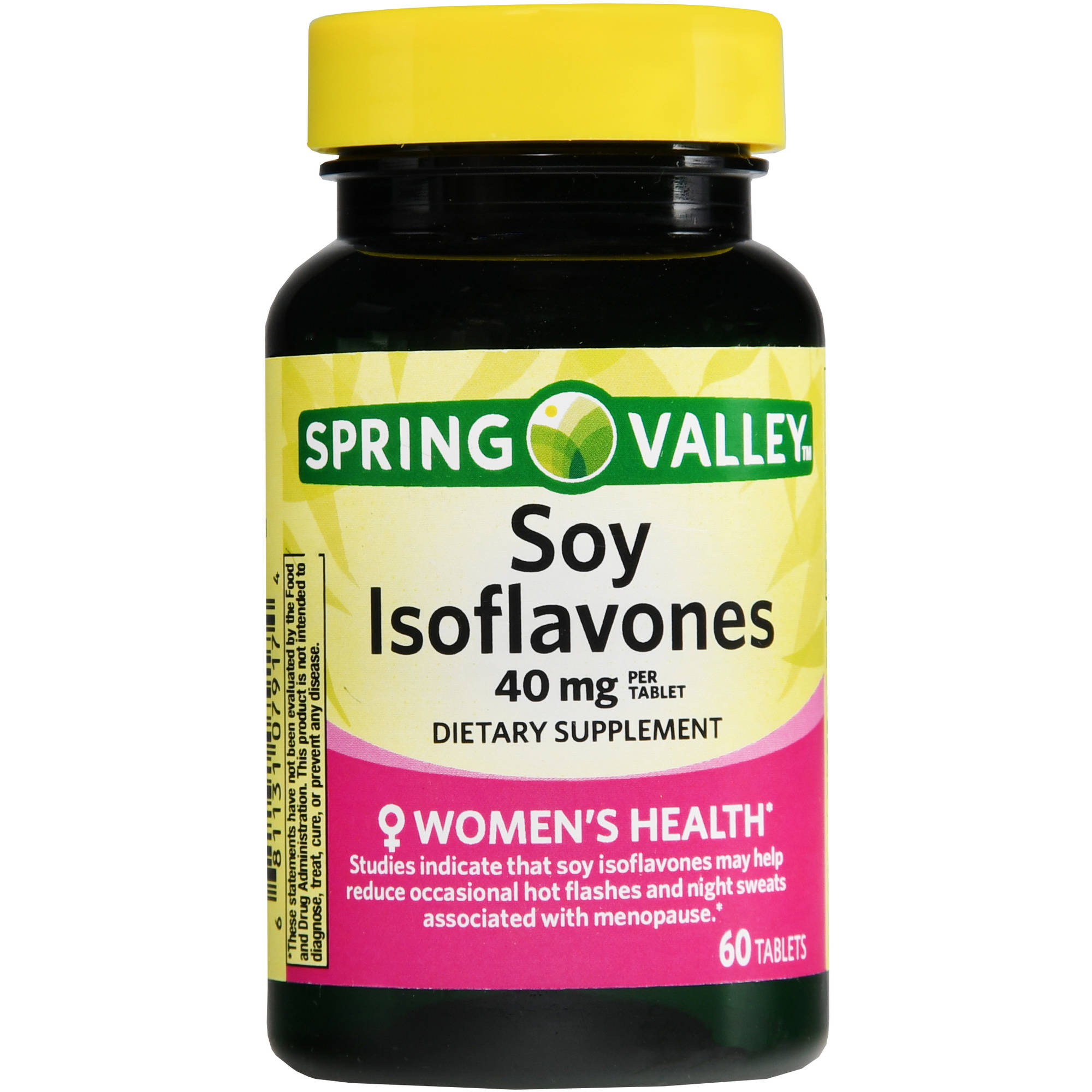 Spring Valley Soy Isoflavones Tablets, 40 mg, 60 count