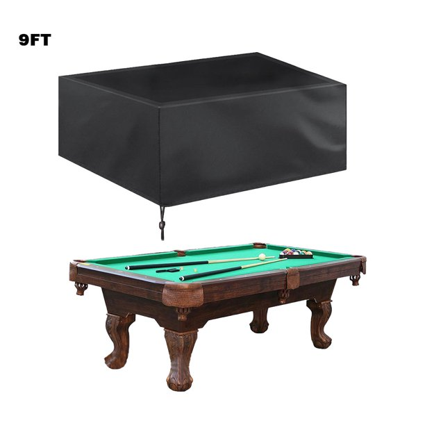 JuLam Billiard Table Dust Proof Home Table Protective Cover Chair Waterproof Cover Pool Table Protection Cover
