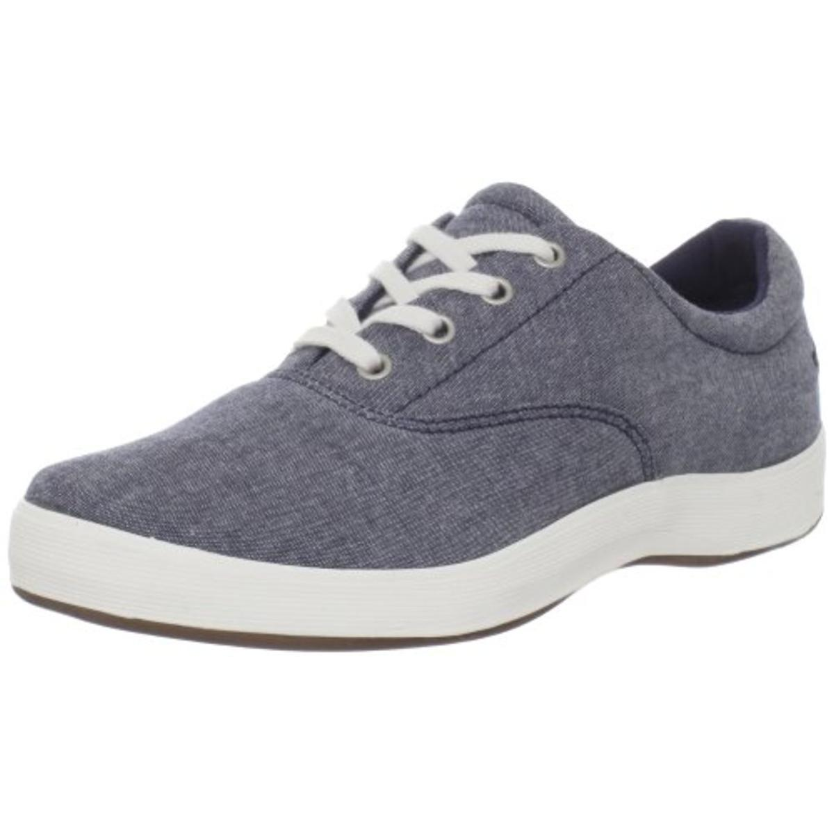 Grasshoppers Womens Janey Chambray Memory Foam Casual Shoes by Grasshoppers