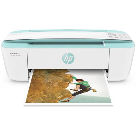 HP DeskJet 3755 Wireless Printer - Seagrass (J9V92A_B1H)