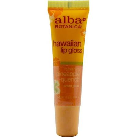 Alba Botanica Hawaiian Clear Lip Gloss Pineapple Quench -- 0.42 (Lip Gloss Pineapple Quench)