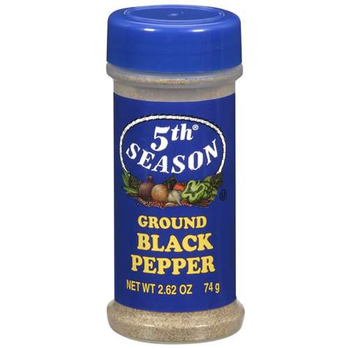 5Th Season: Ground Black Pepper,