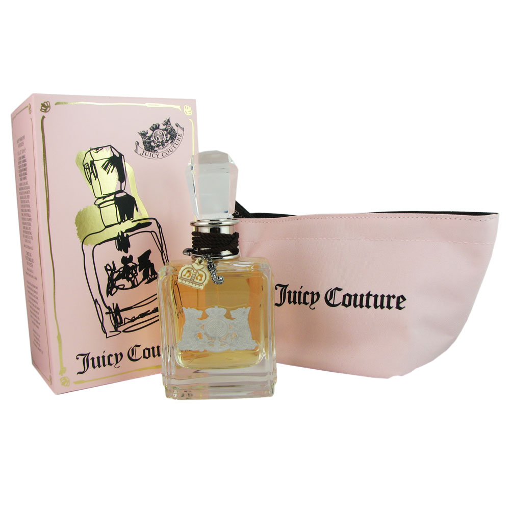 Juicy Couture Traveler's Exclusive For Women 3.4 oz EDP with Cosmetic Bag