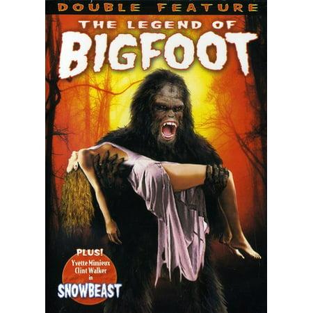 The Legend of Bigfoot / Snowbeast (DVD) (Bigfoot Costume Movie Quality)