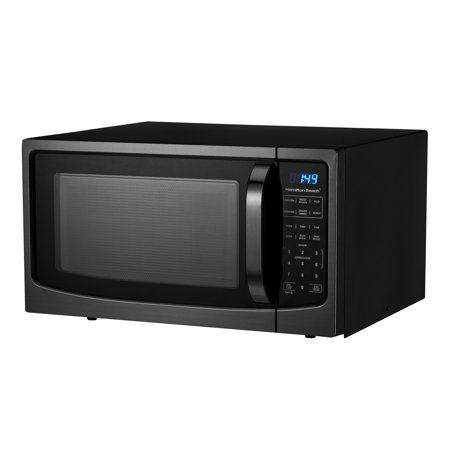 Hamilton Beach 1 6 Cu Ft Black Stainless Steel Digital