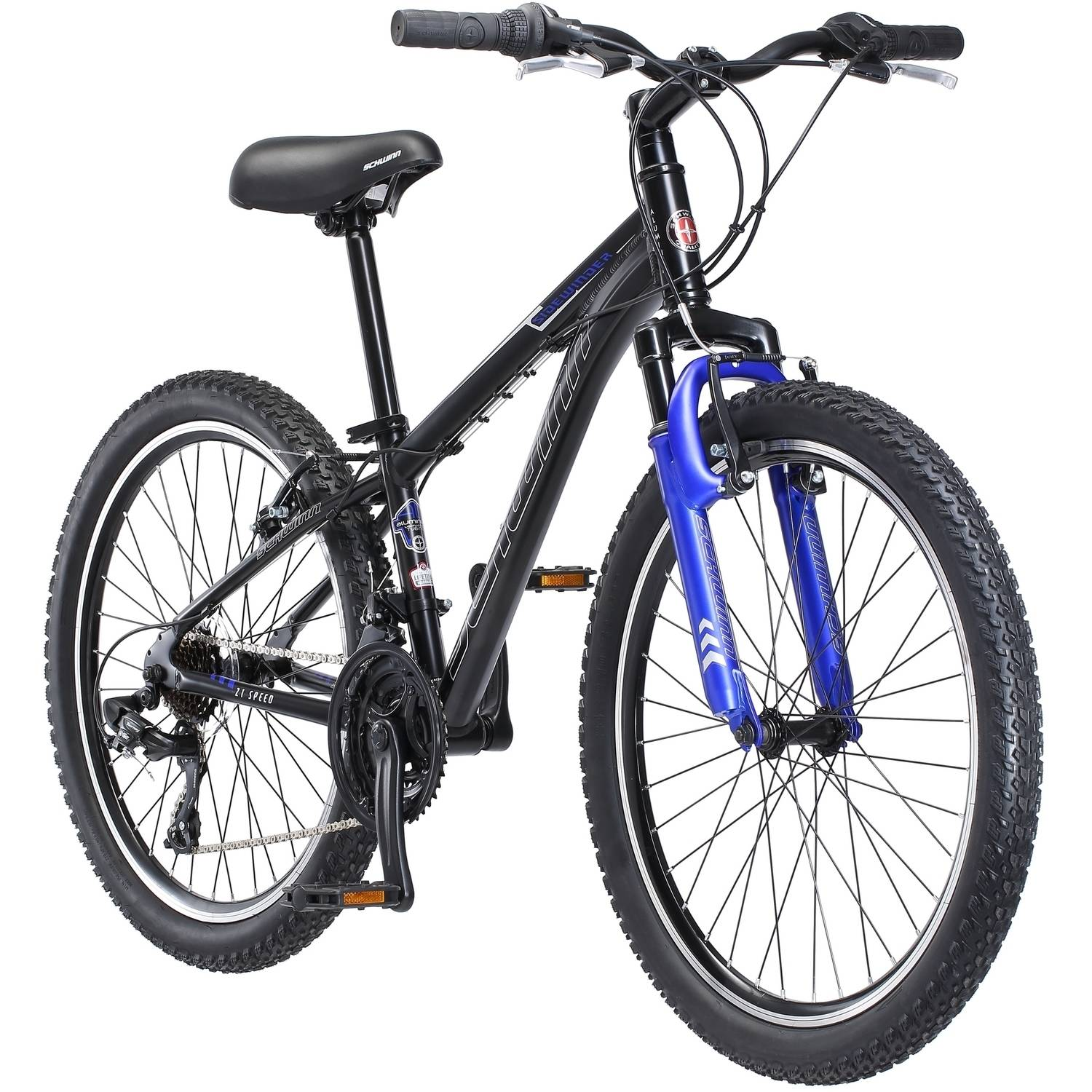 "24"" Schwinn Sidewinder Boy's Mountain Bike, Black"
