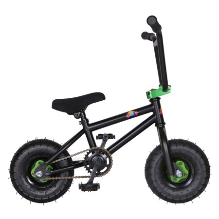 "KOBE Mini BMX Trick Bike - Off-Road to Skate Park, Freestyle, Trick, Stunt Bicycle 10"" Wheels for Adults and Kids - Green - image 10 de 12"