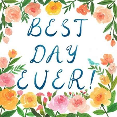 Best Day Ever Poster Print by Lings Workshop