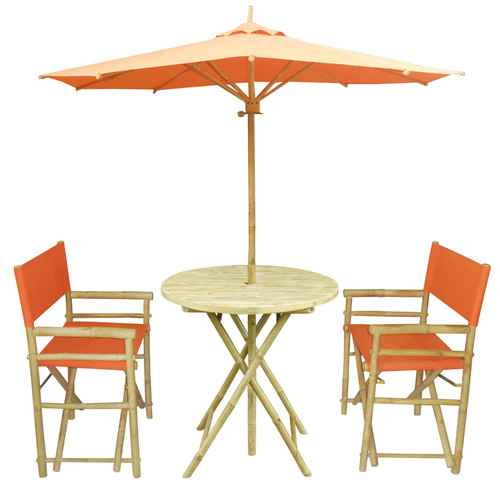 ZEW Inc 4 Piece Dining Set