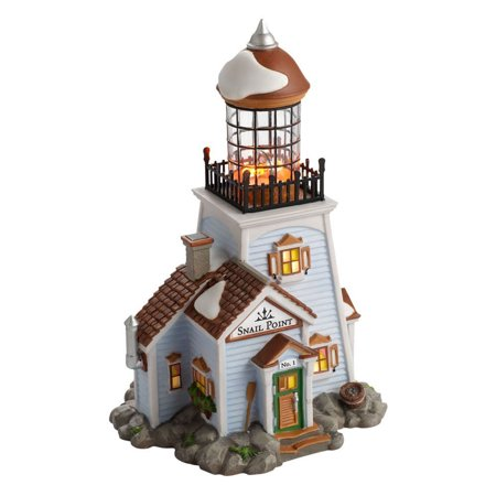 Dept 56 New England Village Snail Point Lighthouse 4020199
