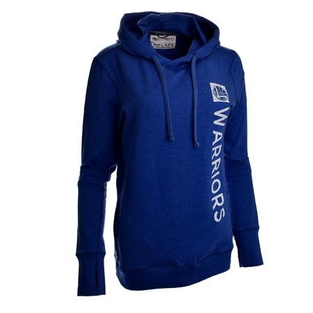 47 Brand Golden State Warriors Womens Overload Stride Hoodie (Royal) by