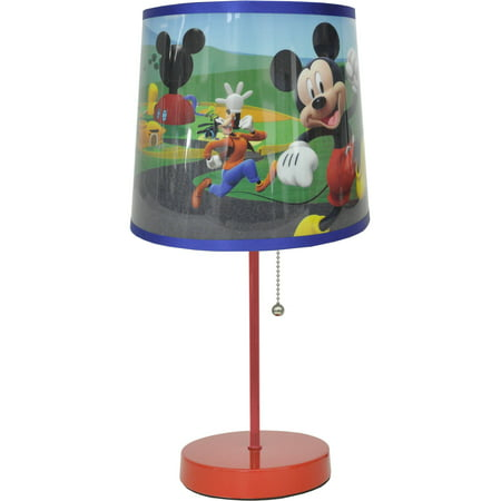 Disney Mickey Mouse Kids Table Stick Lamp