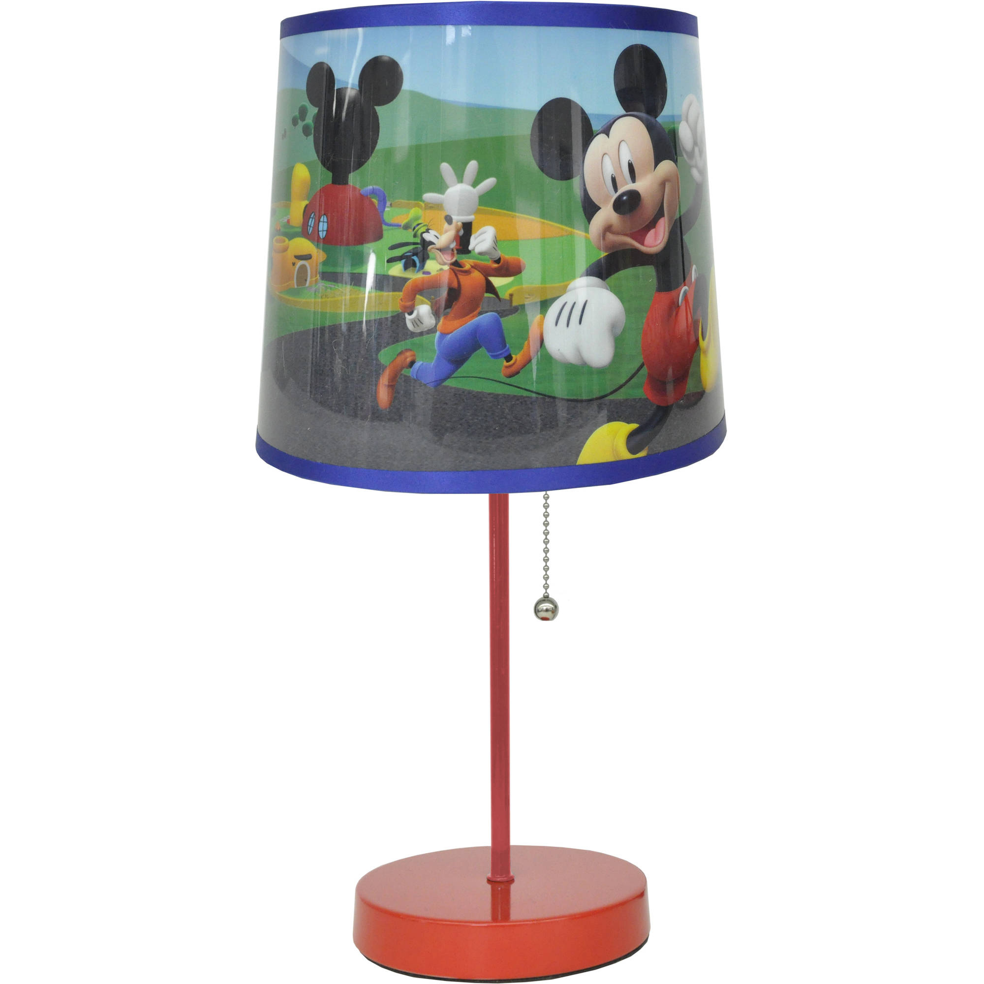 Mickey Mouse Head Stick Lamp