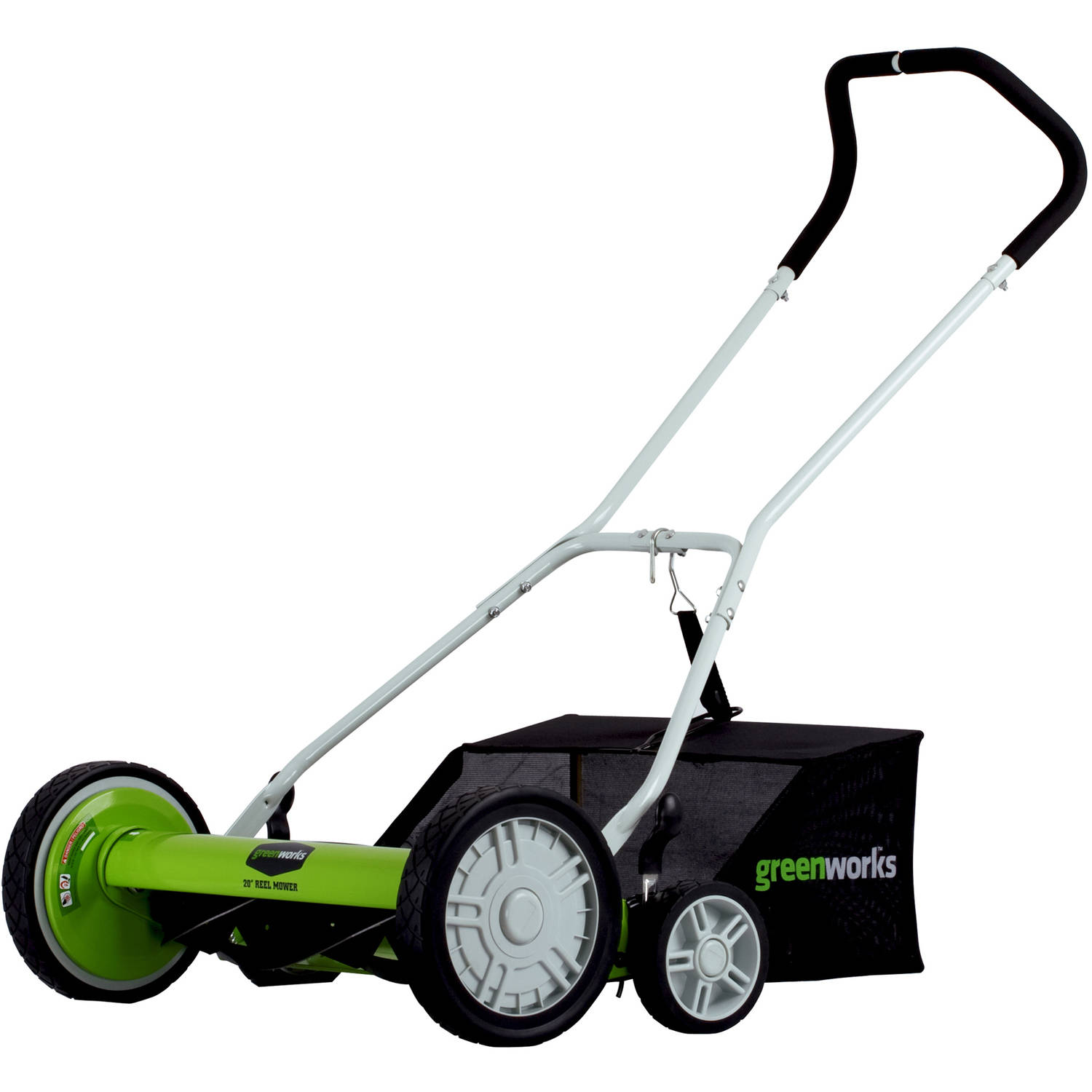 "Greenworks 5-Blade 20"" Reel Mower"