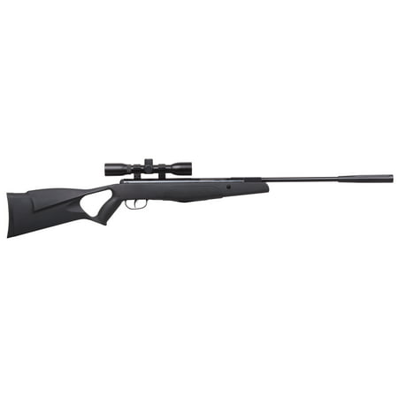 Crosman F4 Classic NP .177 Caliber Break Barrel Air Rifle with Scope, Low Velocity Version, 695fps