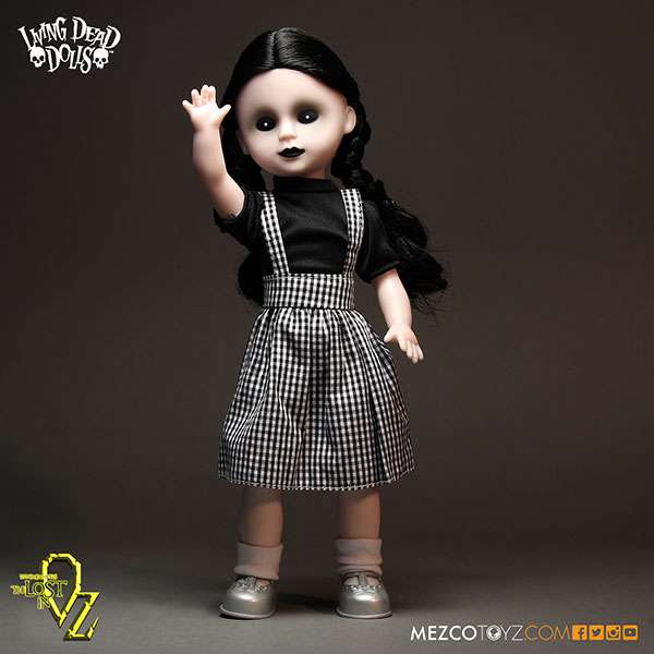 Living Dead Dolls Lost In Oz The Lost as Dorothy 10 Doll