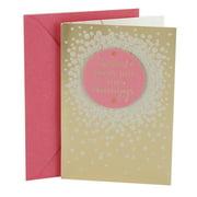 Birthday cards hallmark birthday greeting card gold satin m4hsunfo