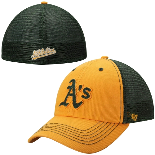 huge selection of 7a5f5 cf3ec ... germany mens 47 brand green oakland athletics taylor closer flex hat  6084f 66646