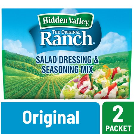 Hidden Valley Original Ranch Salad Dressing & Seasoning Mix, Gluten Free - 2 (Age Of Empires 2 Saladin Mission 5)