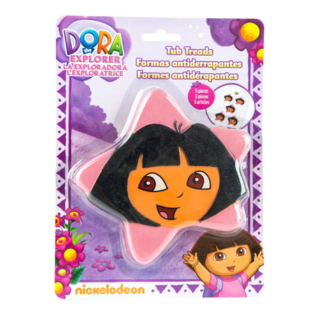 Ginsey Dora The Explorer Tub Treads Stars (Discontinued by Manufacturer)