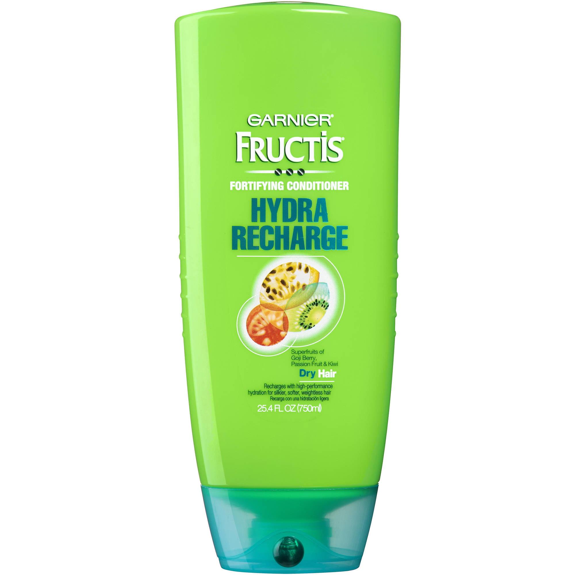 Garnier Fructis Hydra Recharge Fortifying Conditioner, 25.4 fl oz