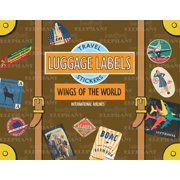 Wings of the World Luggage Labels : Travel Stickers