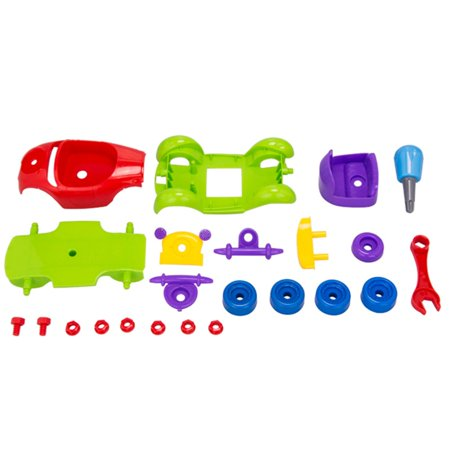 Puzzle Baby Toys Diy Children Cognitive Educational Toys With Screwdriver Disassembling Vintage Car Airplane Kids Toys