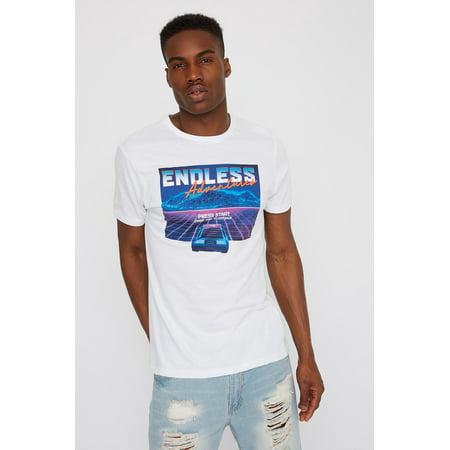 Urban Planet Men's Endless Adventures Graphic T-Shirt - image 2 de 2