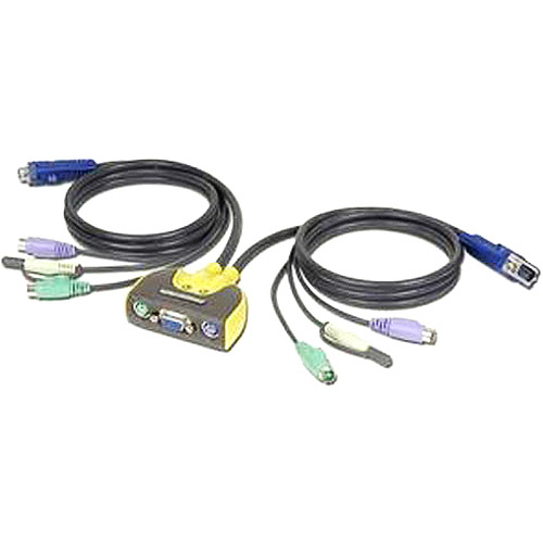 IOGEAR GCS612A MiniView Micro Audio 2-Port KVM Switch