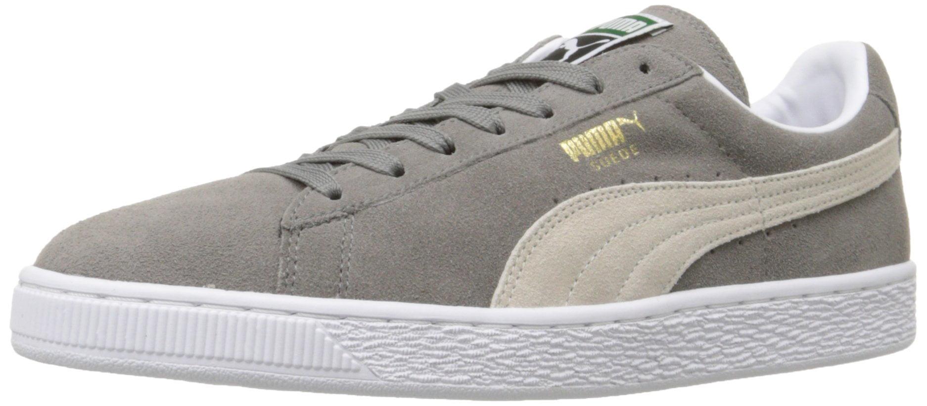 puma suede classic sneaker,steeple gray