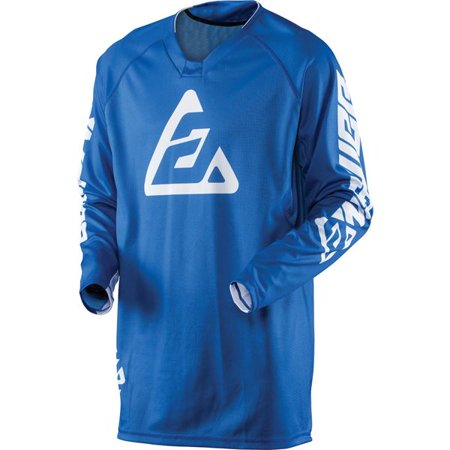 Answer Racing Elite Motocross Jersey - Blue, All (Elite Jersey Size Chart)