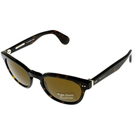 Ralph Lauren Sunglasses Men Havana 100% UV Protection Oval RL8130P 500352 Size: Lens/ Bridge/ Temple: (Ralph Lauren Lenses)