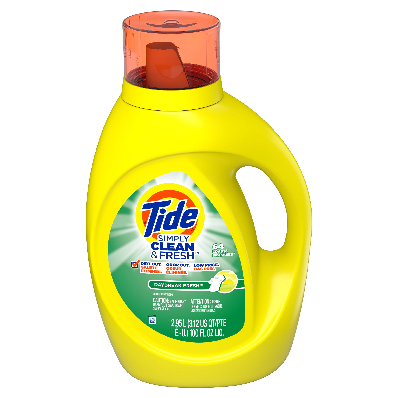 Tide Simply Clean Fresh He Liquid Laundry Detergent Daybreak